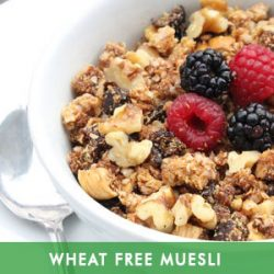 Wheat Free Muesli